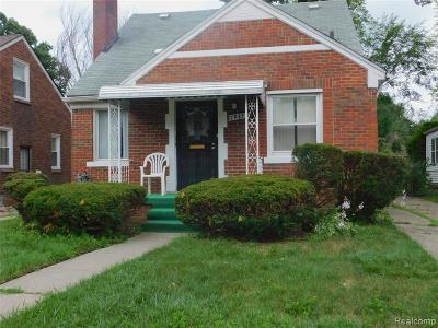 Detroit Single Family Home For Sale: 19437 Coyle Street