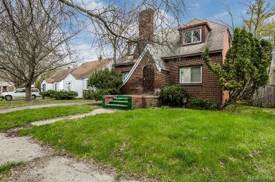 Detroit Single Family Home For Sale: 16584 Beaverland Street