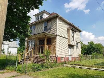Detroit Single Family Home For Sale: 2683 Ferry Park Street