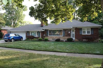 Dearborn Single Family Home For Sale: 1217 Falcon Street W