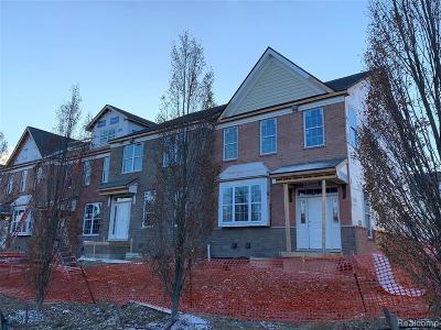 Ann Arbor Condo/Townhouse For Sale: 2876 Hardwick Road #101
