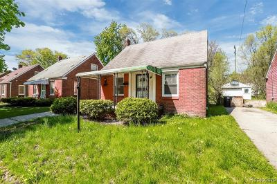Detroit Single Family Home For Sale: 20149 Mitchell