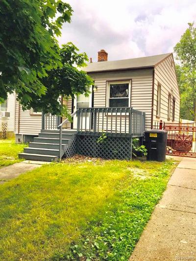 Detroit Single Family Home For Sale: 6879 Plainview Avenue