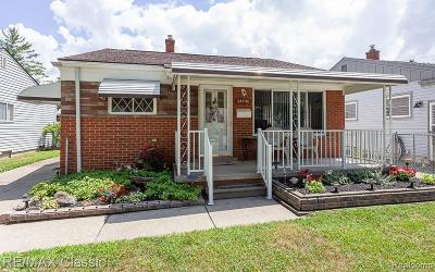 Madison Heights MI Single Family Home For Sale: $175,000