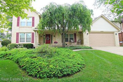 Novi Single Family Home For Sale: 24989 Davenport Avenue