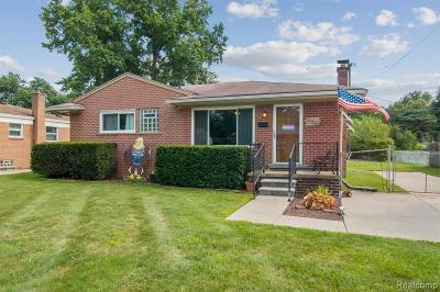 Wayne County Single Family Home For Sale: 31263 Pierce Street