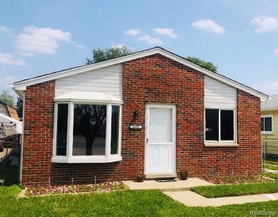 Allen Park, Lincoln Park, Southgate, Wyandotte, Taylor, Riverview, Brownstown Twp, Trenton, Woodhaven, Rockwood, Flat Rock, Grosse Ile Twp, Dearborn, Gibraltar Single Family Home For Sale: 14801 Bailey Street