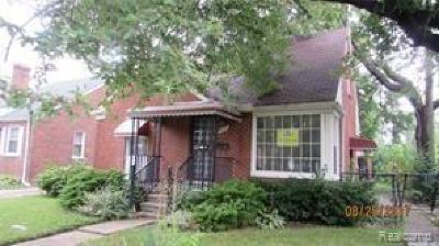 Detroit Single Family Home For Sale: 9181 Dawes Street