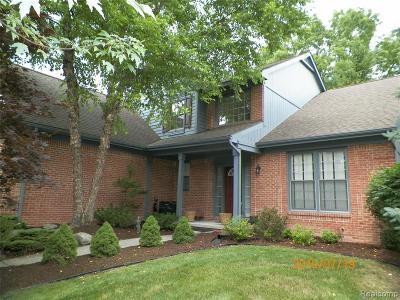 Novi Single Family Home For Sale: 40592 Kingsley Lane