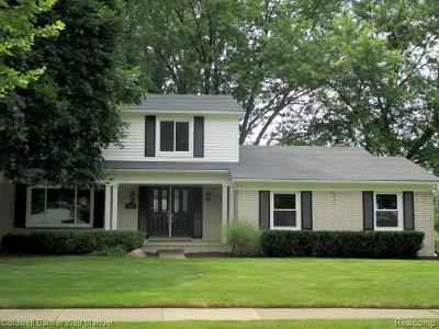 Troy Single Family Home For Sale: 4119 Brandywyne Drive