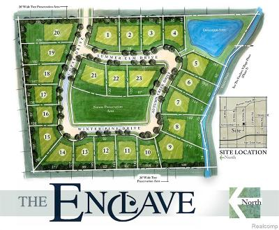 Shelby Twp Residential Lots & Land For Sale: 53299 Summer Elm Drive