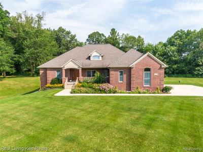 Addison Twp Single Family Home For Sale: 2457 Meadow Court