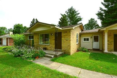Shelby Twp Single Family Home For Sale: 53280 Suzanne Avenue