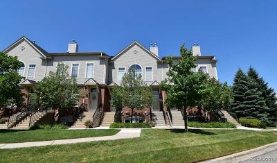 Novi Condo/Townhouse For Sale: 30705 Ardmore Court