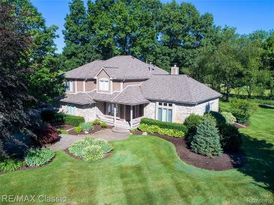 Highland Twp Single Family Home For Sale: 1286 Glen Court