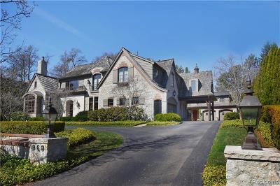 Birmingham Single Family Home For Sale: 968 Arlington Street
