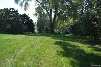 Bloomfield Hills Residential Lots & Land For Sale: 135 Harlan Dr