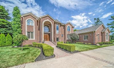 West Bloomfield Twp Single Family Home For Sale: 4560 Arrowhead