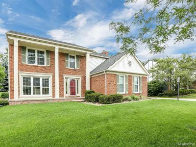 Rochester Hills Single Family Home For Sale: 2356 Pleasant View Drive