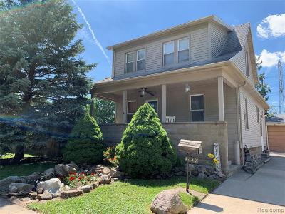 Trenton MI Single Family Home For Sale: $122,000
