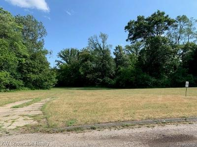 Waterford Twp Residential Lots & Land For Sale: 1215 Jeffwood Drive