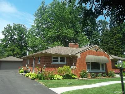 Dearborn Heights Single Family Home For Sale: 5907 Rosetta Street