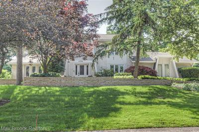 West Bloomfield Twp Single Family Home For Sale: 4378 Ramsgate Lane