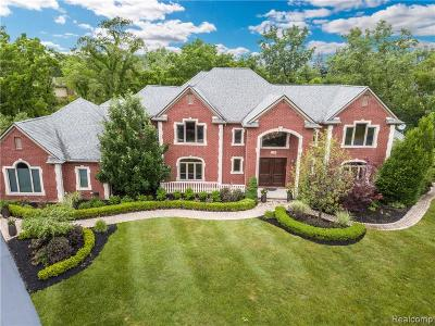 Bloomfield Twp MI Single Family Home For Sale: $1,449,000