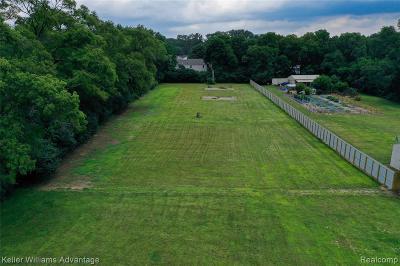 Farmington Hills Residential Lots & Land For Sale: Schroeder