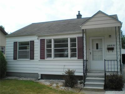 Dearborn Heights Single Family Home For Sale: 25521 Yale Street