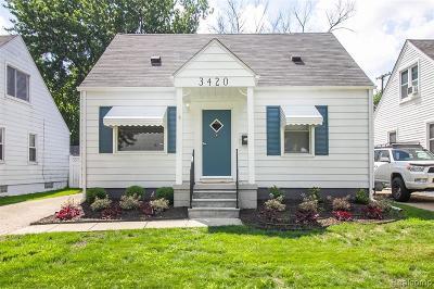 Dearborn Single Family Home For Sale: 3420 Detroit Street