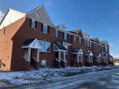 Northville Condo/Townhouse For Sale: 47711 Alden Terrace North #10