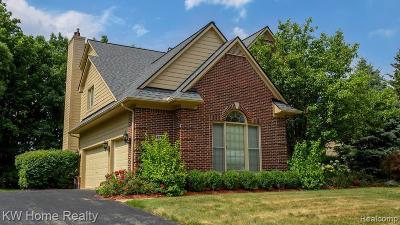 Novi Single Family Home For Sale: 45700 Bristol Circle