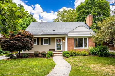 Canton, Plymouth Single Family Home For Sale: 706 Burroughs Street