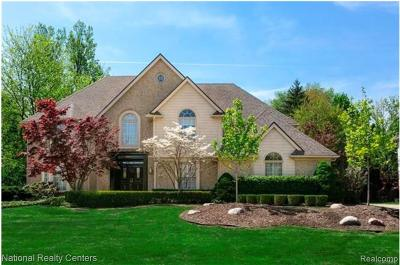 Farmington Hills Single Family Home For Sale: 38051 Turnberry Court