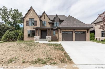 Troy Single Family Home For Sale: 3824 Poppleton Court