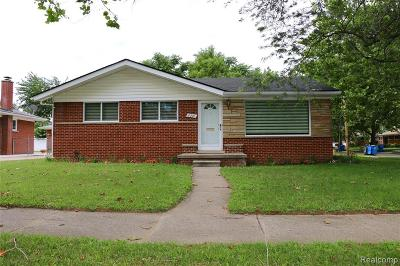 Dearborn Heights Single Family Home For Sale: 6241 Rockland Street