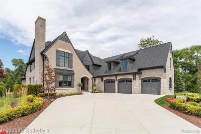 Troy Single Family Home For Sale: 3800 Poppleton Court