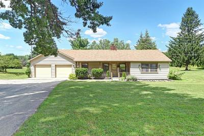 Hartland Twp Single Family Home For Sale: 9697 Townley Road