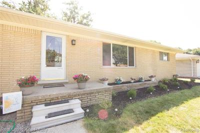 Sterling Heights Single Family Home For Sale: 36816 Haverhill