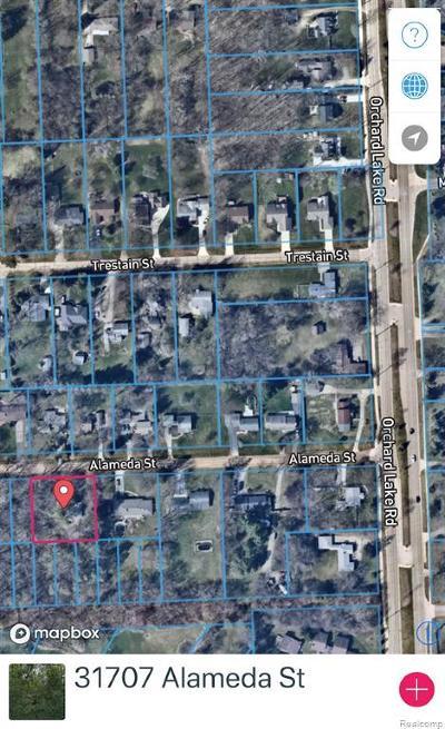 Farmington Hills Residential Lots & Land For Sale: 31707 Alameda Street