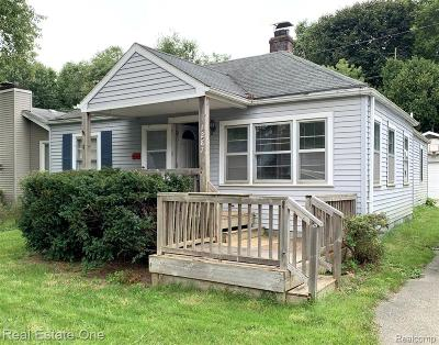 Addison Twp Single Family Home For Sale: 1287 Rochester Road