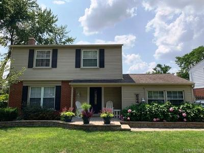 Northville Single Family Home For Sale: 624 Reed Court