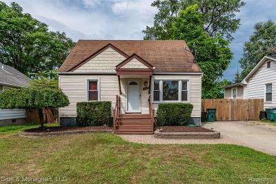 Ferndale Single Family Home For Sale: 3121 Minerva Street