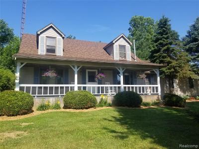 Single Family Home For Sale: 4701 Shutt Road