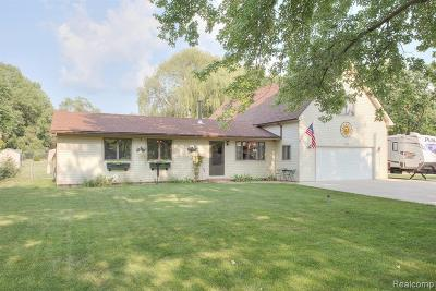 Highland Twp Single Family Home For Sale: 3356 Center Road