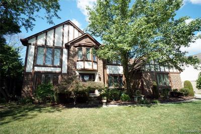 Novi Single Family Home For Sale: 25497 Anthony Drive