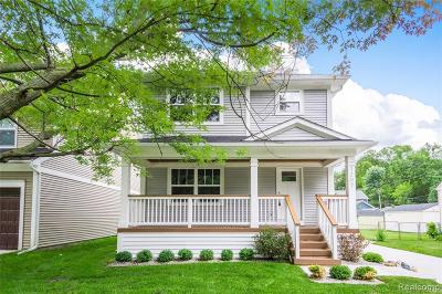 Royal Oak Single Family Home For Sale: 1207 Cherokee Avenue