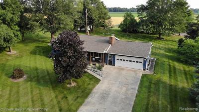 Single Family Home For Sale: 9242 E Brooks Road