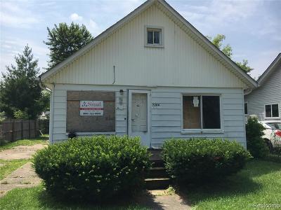 Warren Single Family Home For Sale: 7204 Packard Avenue